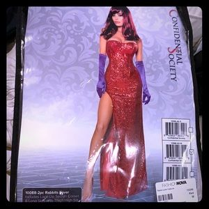 New Jessica rabbit Halloween costume